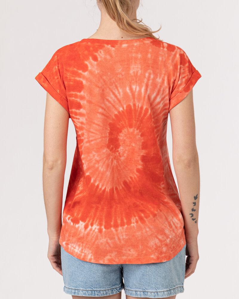 T-Shirt Bomboogie TW6996_JSNR_40 czerwony - fot:4