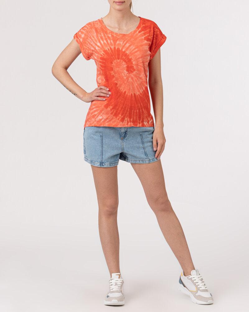 T-Shirt Bomboogie TW6996_JSNR_40 czerwony - fot:5