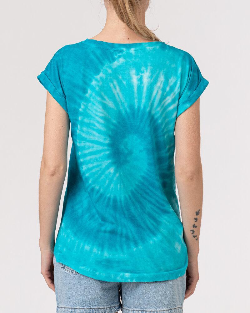 T-Shirt Bomboogie TW6996_JSNR_335 niebieski - fot:4
