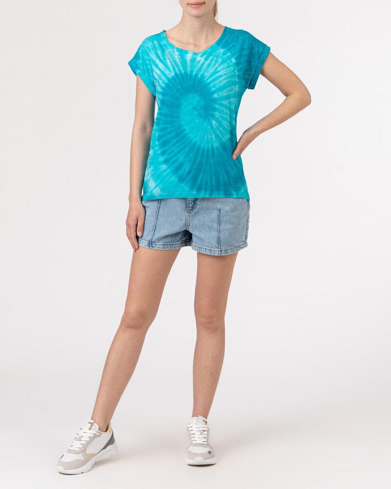 T-Shirt Bomboogie TW6996_JSNR_335 niebieski - fot:5