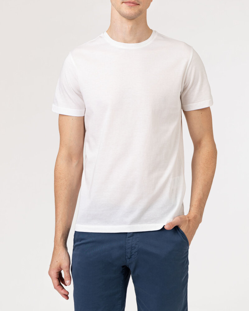 T-Shirt Baldessarini 5015_20006_1010 biały - fot:2