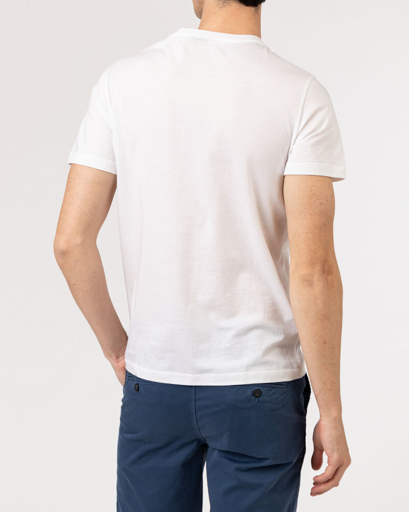 T-Shirt Baldessarini 5015_20006_1010 biały - fot:4