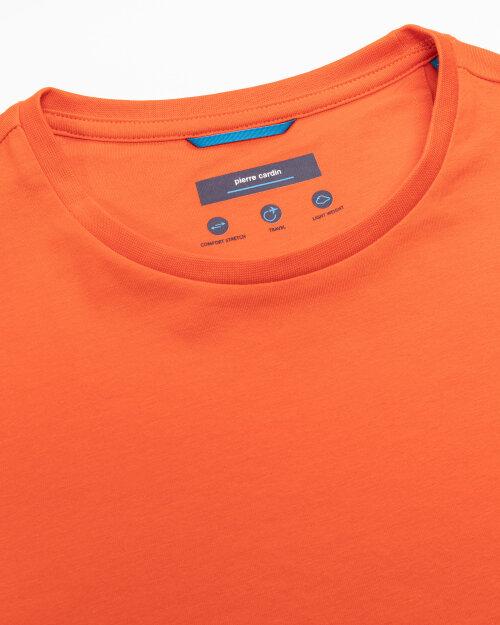 T-Shirt Pierre Cardin 01247_52370_4695 pomarańczowy