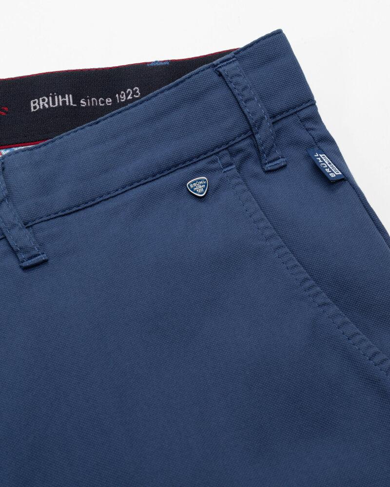 Spodnie Brühl London_0643185010100_660 niebieski - fot:3