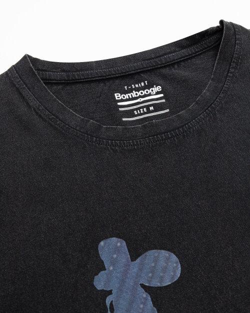 T-Shirt Bomboogie TM6977_JSEY_90 czarny