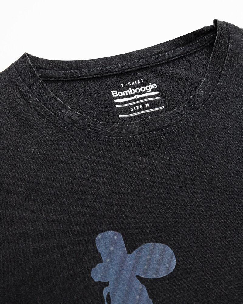 T-Shirt Bomboogie TM6977_JSEY_90 czarny - fot:2