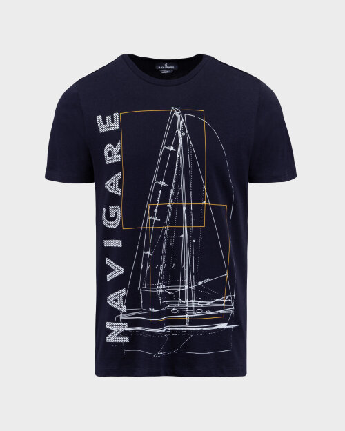 T-Shirt Navigare NV31109_001 granatowy
