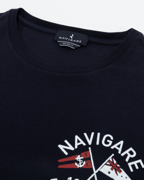 T-Shirt Navigare NV31123_001 granatowy
