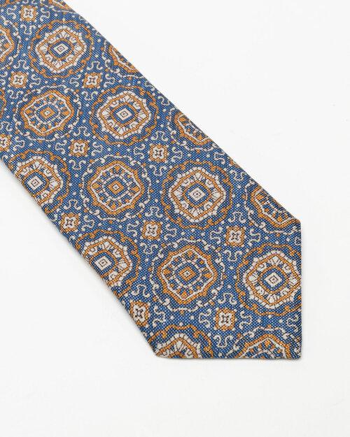 Krawat Stenstroms 913206_004 niebieski