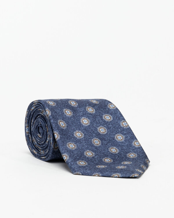 Krawat Stenstroms 913254_003 granatowy