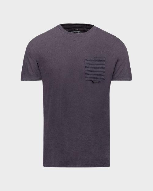T-Shirt Bomboogie TM6968_JETK_95 fioletowy