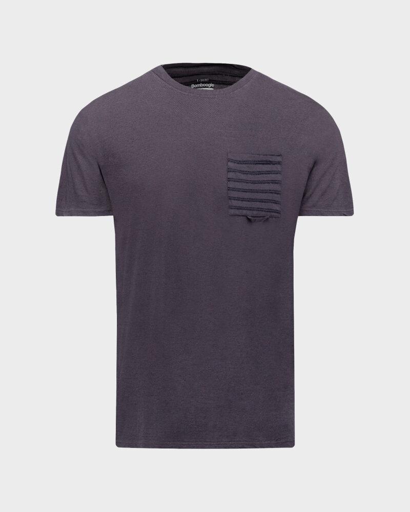 T-Shirt Bomboogie TM6968_JETK_95 fioletowy - fot:1