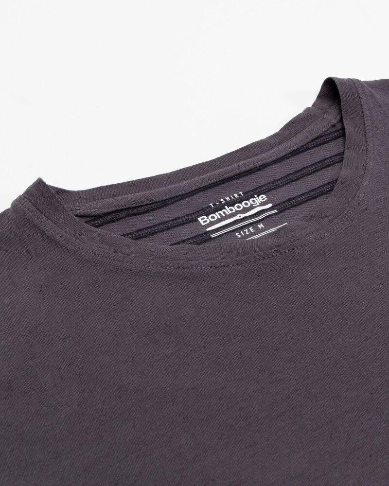 T-Shirt Bomboogie TM6968_JETK_95 fioletowy - fot:2