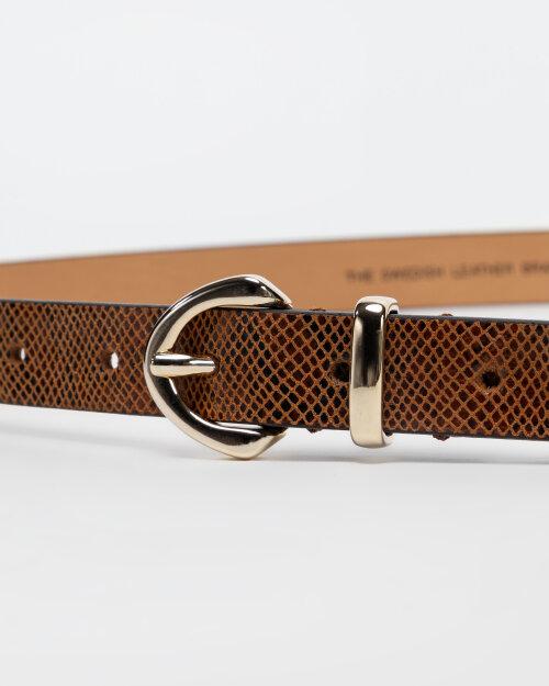 Pasek Saddler 773210162_COGNAC brązowy