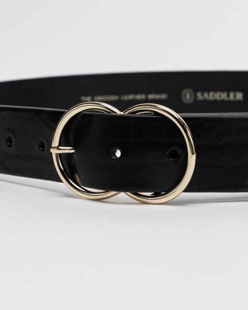 Pasek Saddler 773080001_BLACK czarny - fot:2