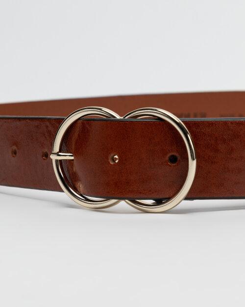 Pasek Saddler 773080162_COGNAC brązowy
