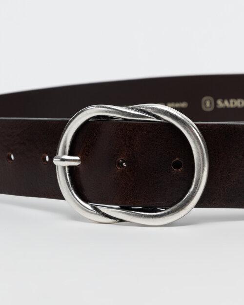 Pasek Saddler 773000004_DK. BROWN brązowy