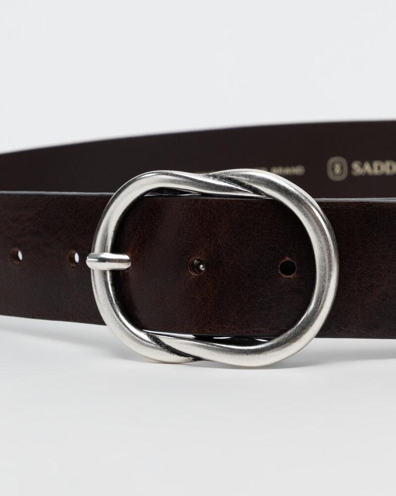 Pasek Saddler 773000004_DK. BROWN brązowy - fot:2