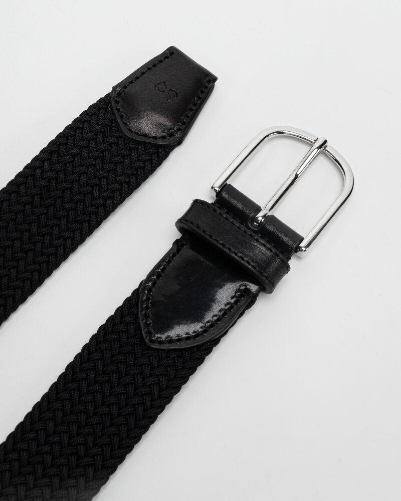 Pasek Saddler 785750001_BLACK czarny - fot:3