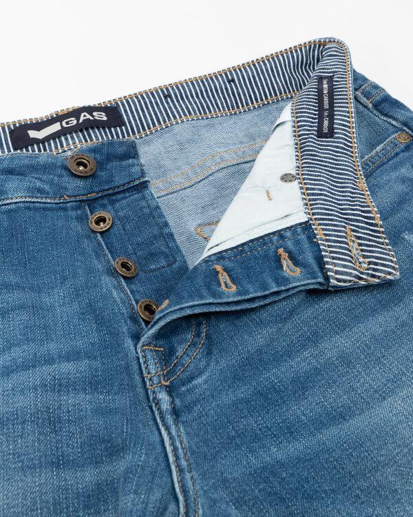 Spodnie Gas A1173_NORTON CARROT       _WV48 niebieski