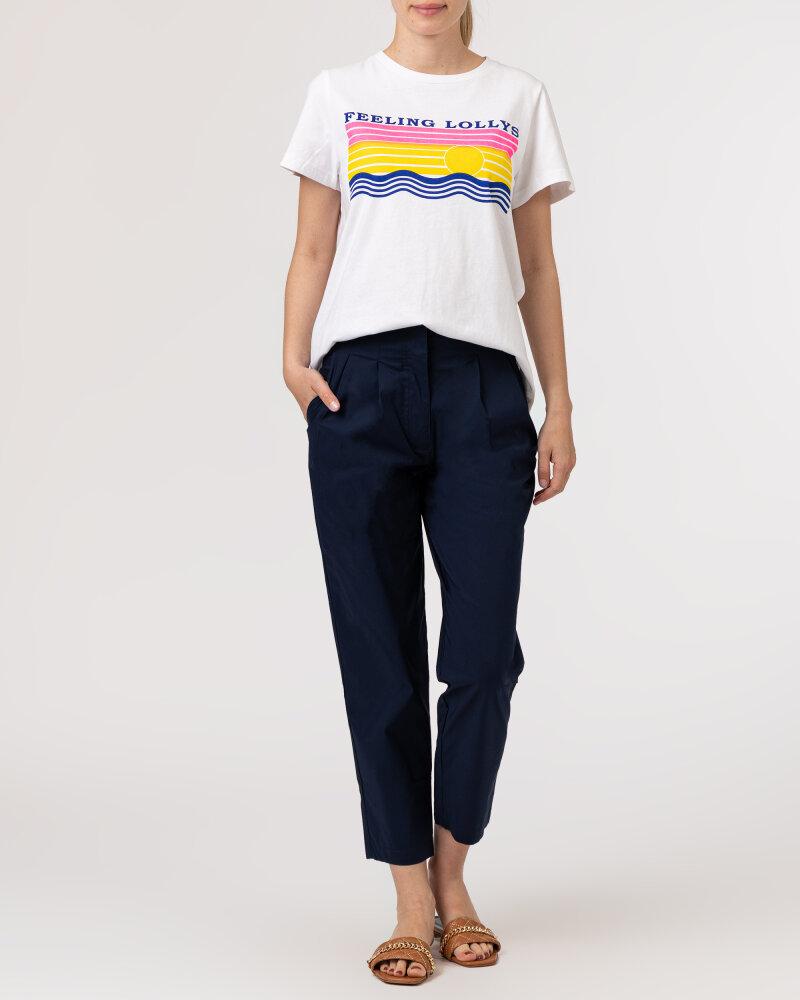 T-Shirt Lollys Laundry 21189_1044_NEON PINK biały - fot:5