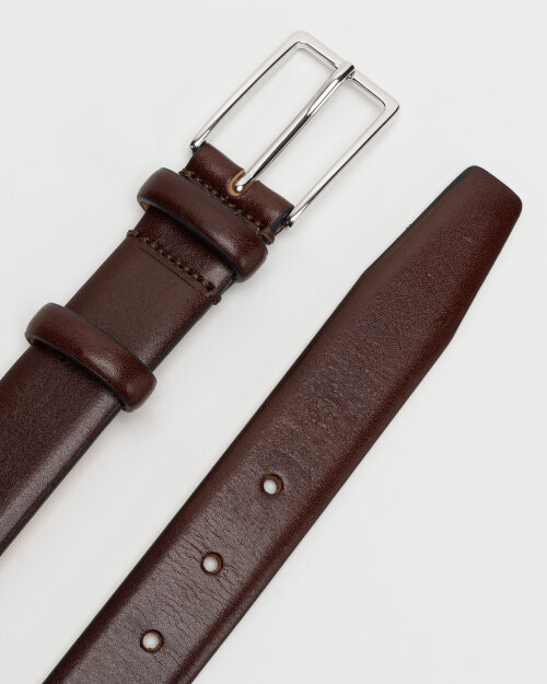 Pasek Saddler 786050004_DK.BROWN brązowy