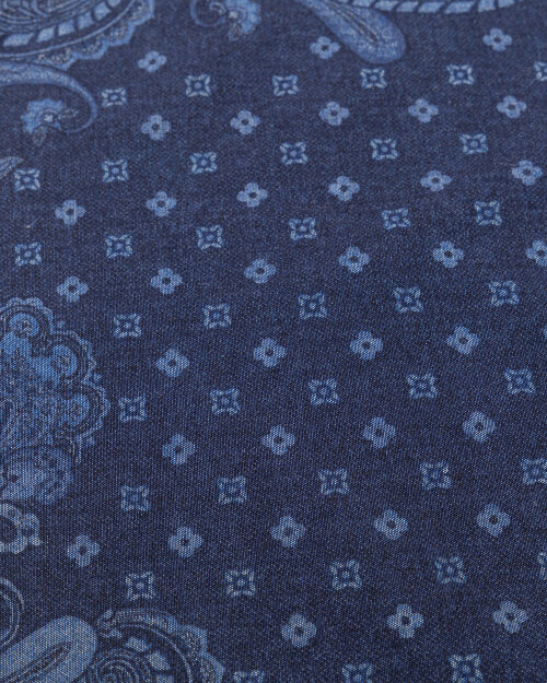 Poszetka Stenstroms 923253_003 niebieski