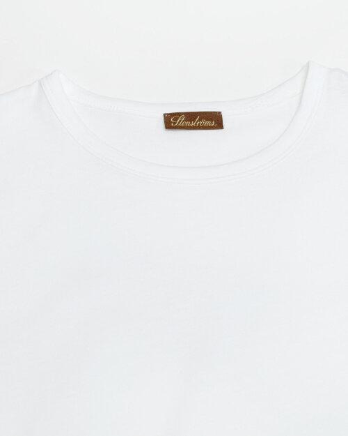 T-Shirt Stenstroms 440043_2486_010 biały