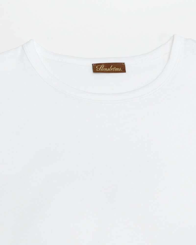 T-Shirt Stenstroms 440043_2486_010 biały - fot:2