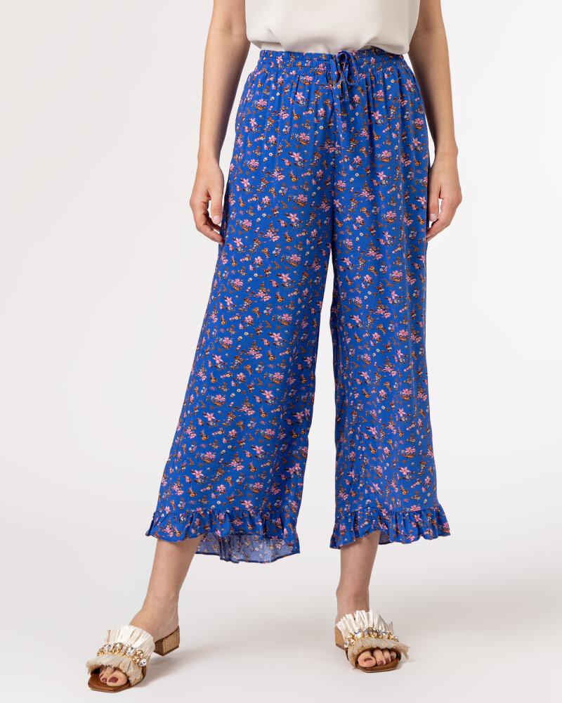 Spodnie Lollys Laundry 21166_5014_FLOWER PRINT niebieski - fot:2