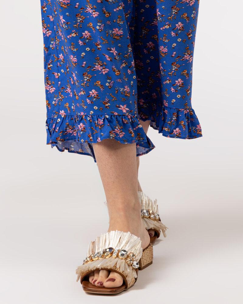 Spodnie Lollys Laundry 21166_5014_FLOWER PRINT niebieski - fot:5
