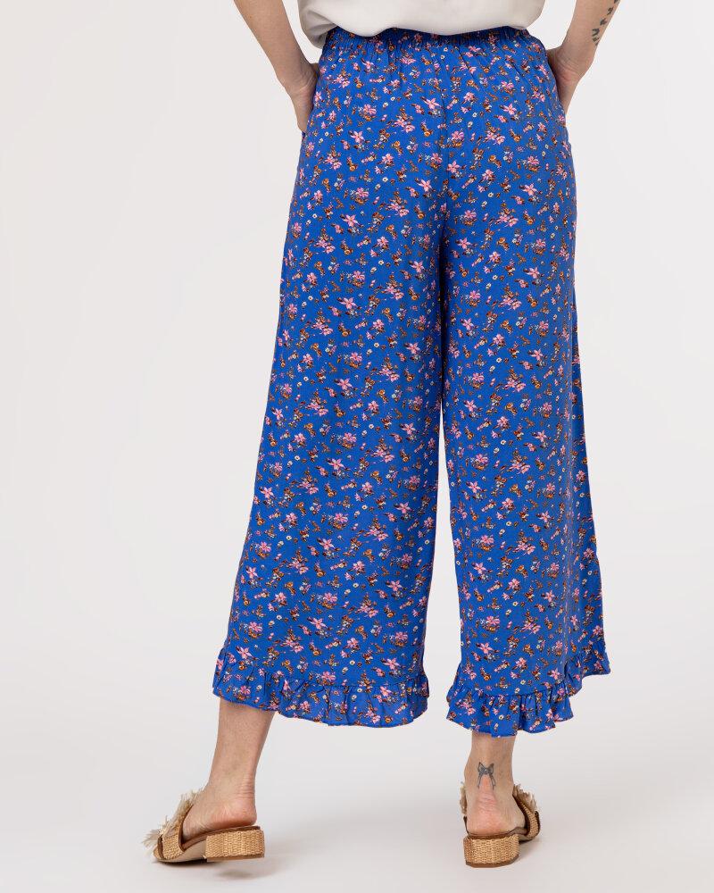 Spodnie Lollys Laundry 21166_5014_FLOWER PRINT niebieski - fot:4