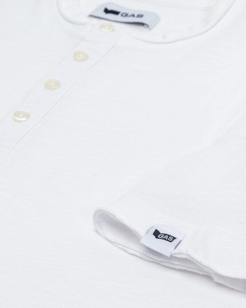 T-Shirt Gas 99638_DHIREN/S SER.       _0001 biały - fot:2