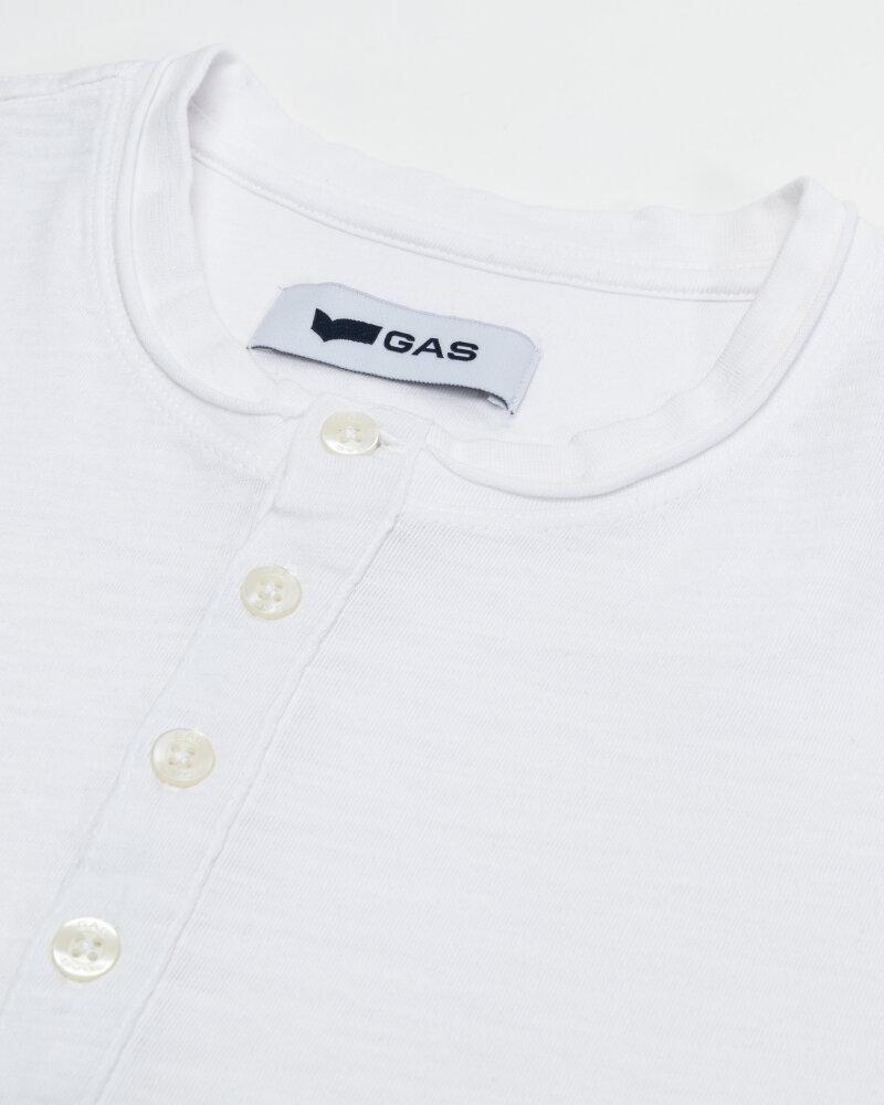 T-Shirt Gas 99638_DHIREN/S SER.       _0001 biały - fot:3