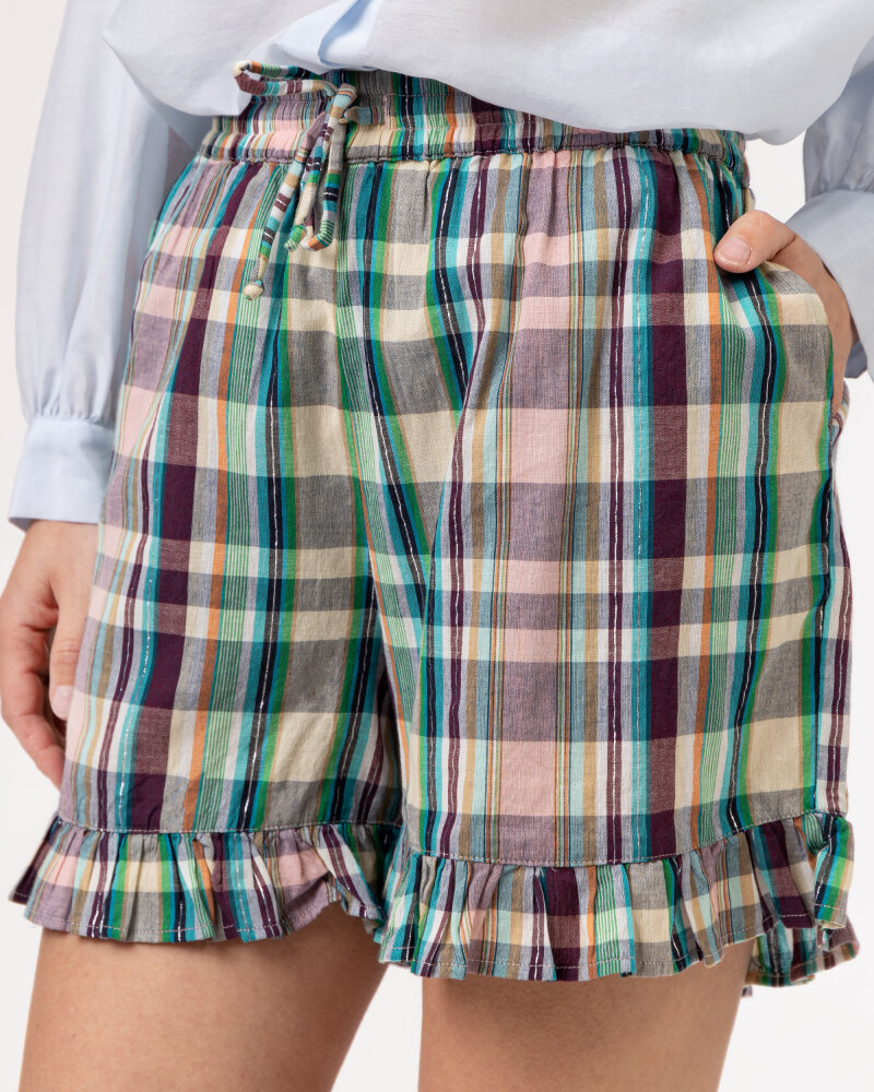 Szorty Lollys Laundry 21174_5012_CHECK PRINT wielobarwny - fot:3