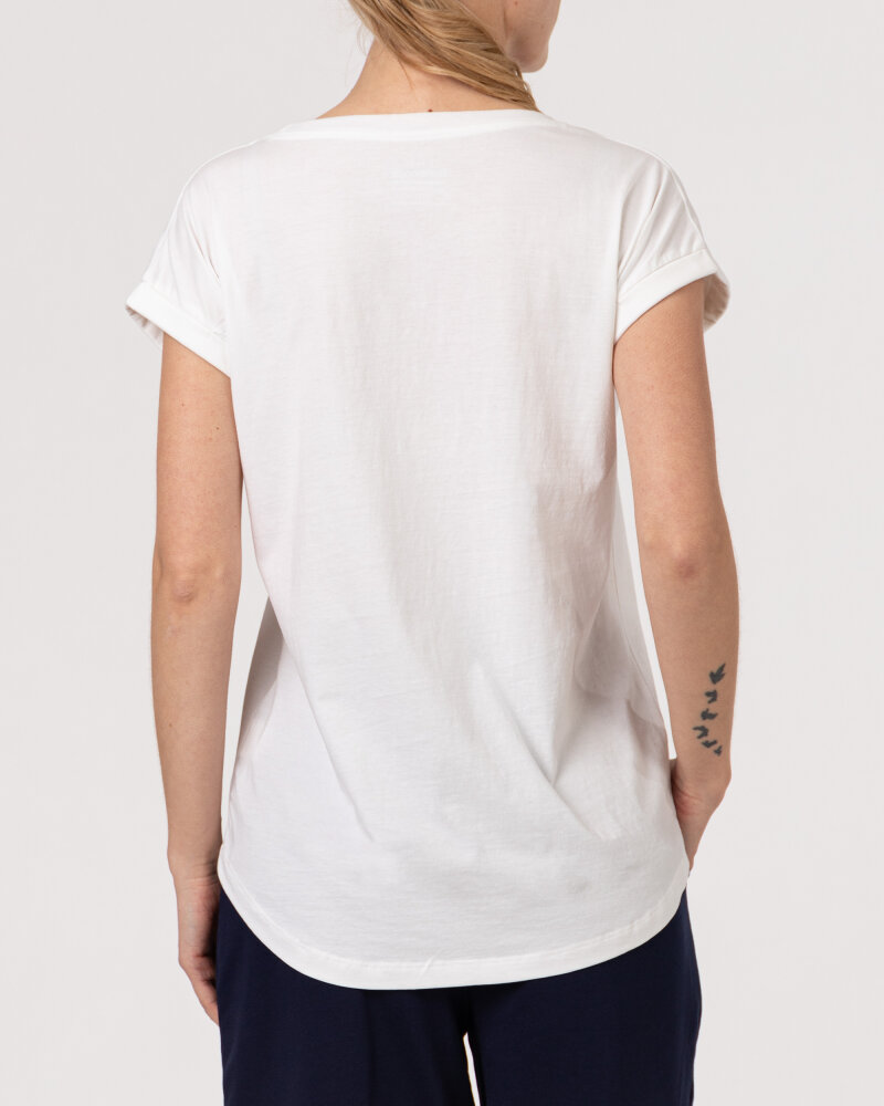 T-Shirt Bomboogie TW6950_JIN_01 biały - fot:4