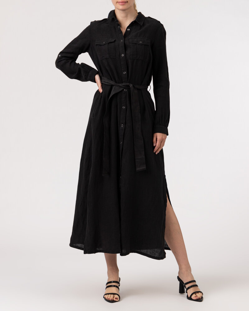 Sukienka Blauer BLDV01231_999 czarny - fot:6
