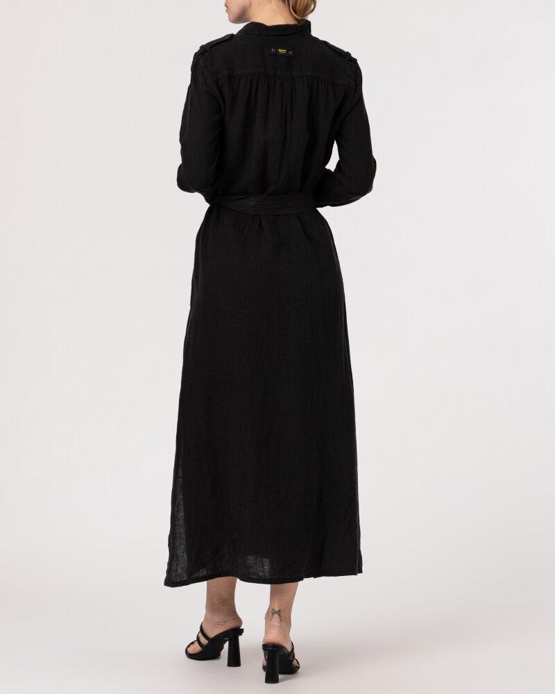 Sukienka Blauer BLDV01231_999 czarny - fot:5