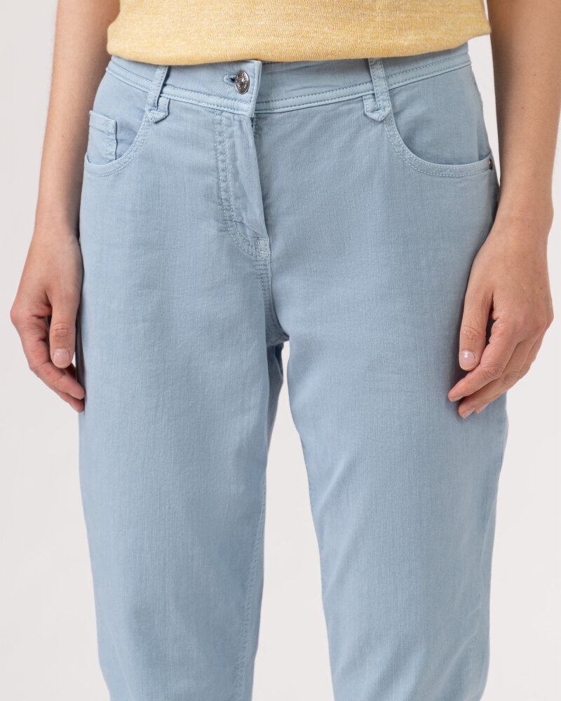 Spodnie Atelier Gardeur ZURI115 80701_63 niebieski - fot:3