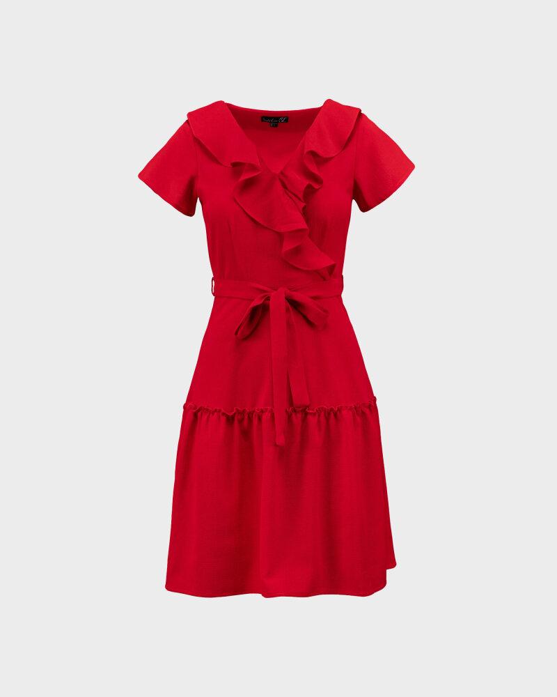 Sukienka Smashed Lemon 21182_450 czerwony - fot:1