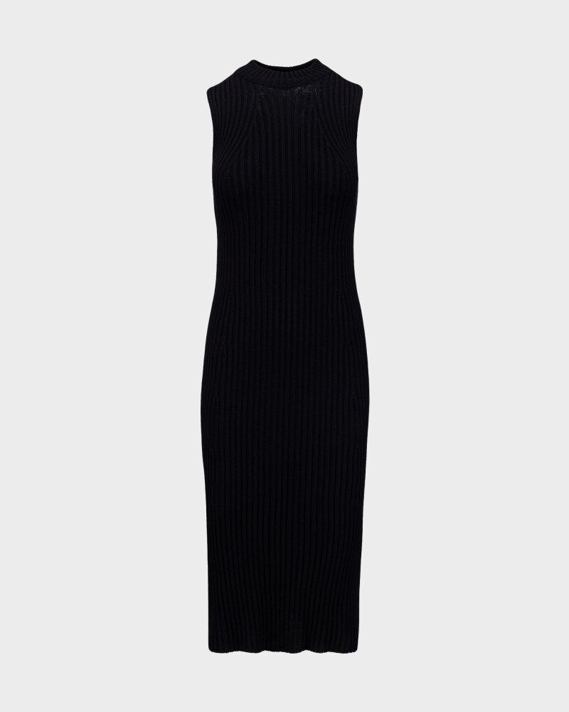 Sukienka Fraternity WL21_TIFFANY_BLACK czarny - fot:1