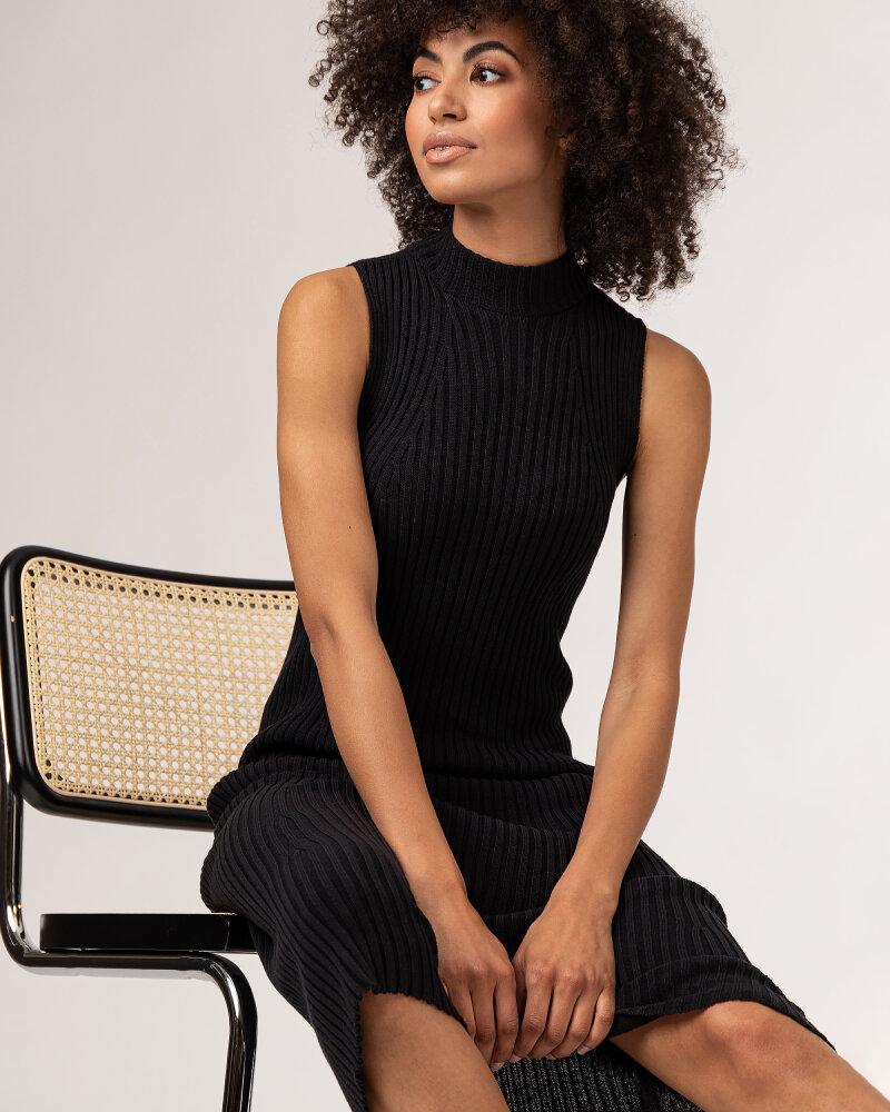 Sukienka Fraternity WL21_TIFFANY_BLACK czarny - fot:3