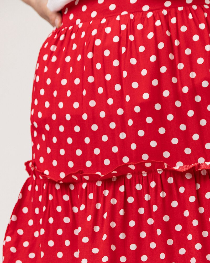 Spódnica Smashed Lemon 21037_450-000 czerwony - fot:3
