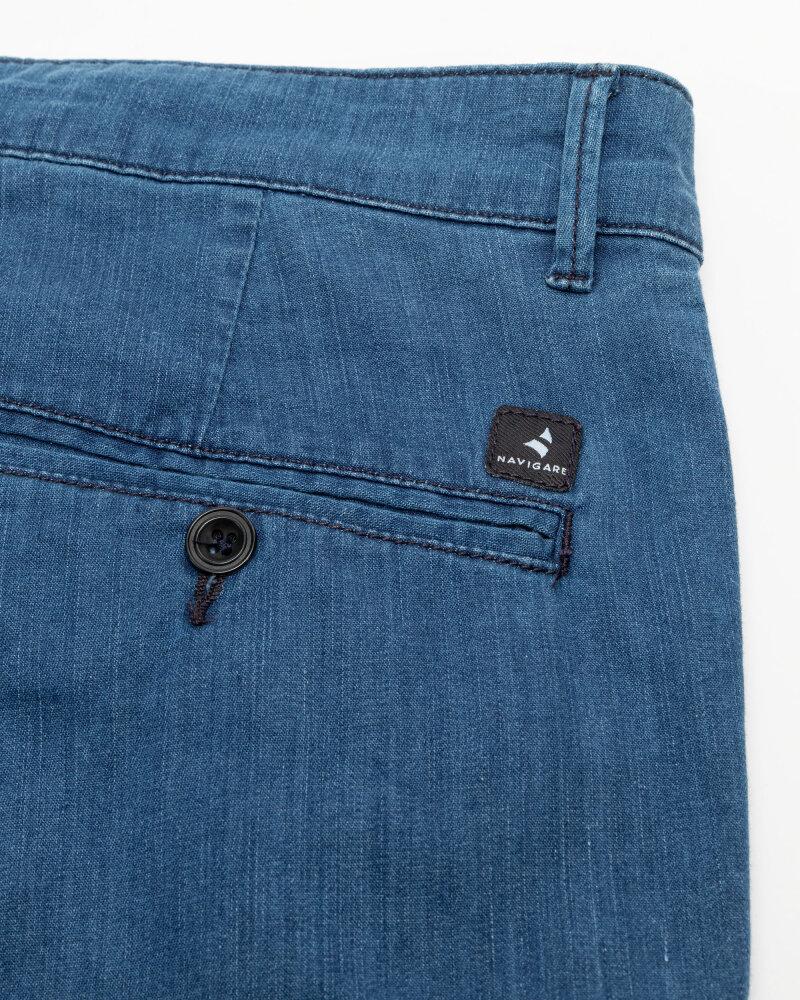 Spodnie Navigare NV55185SB_006 granatowy - fot:5