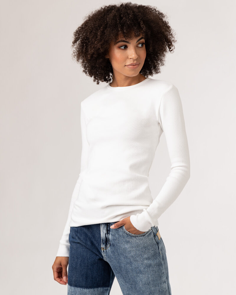 T-Shirt Fraternity WL21_MOLLY_WHITE biały - fot:4