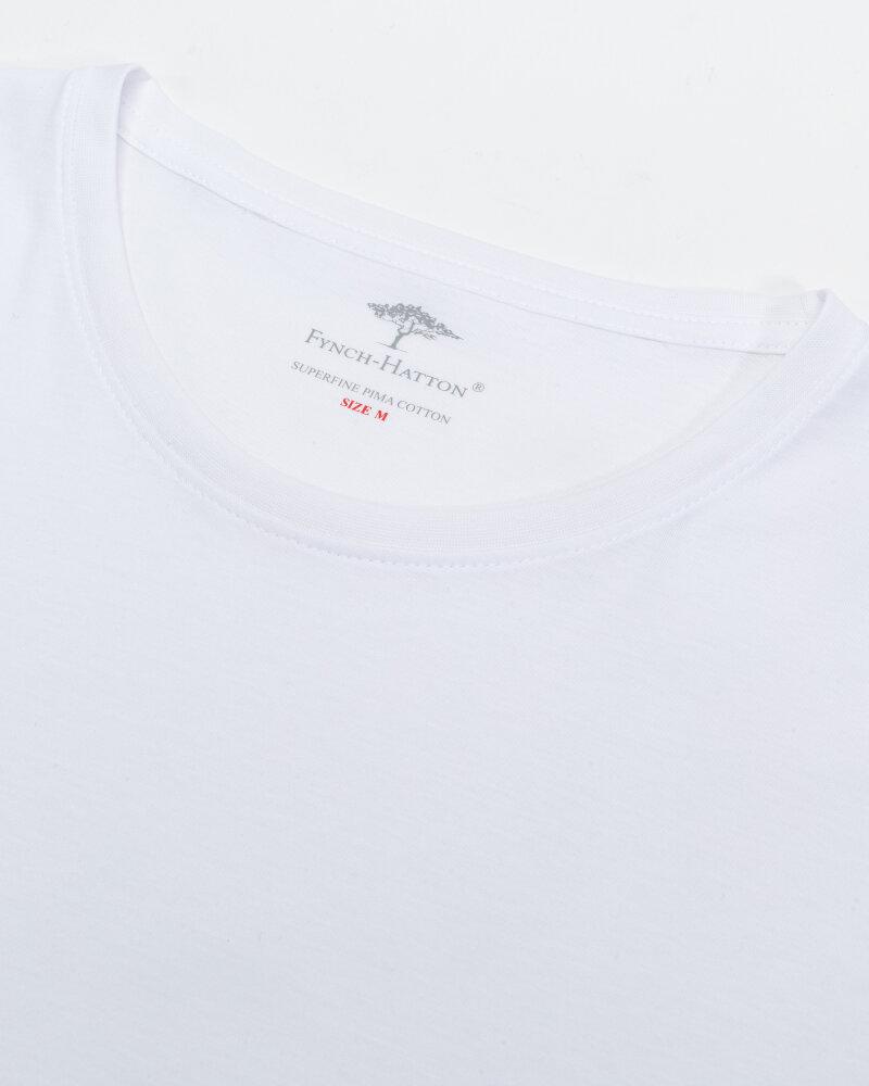 T-Shirt Fynch-Hatton 00001100_000 biały - fot:2