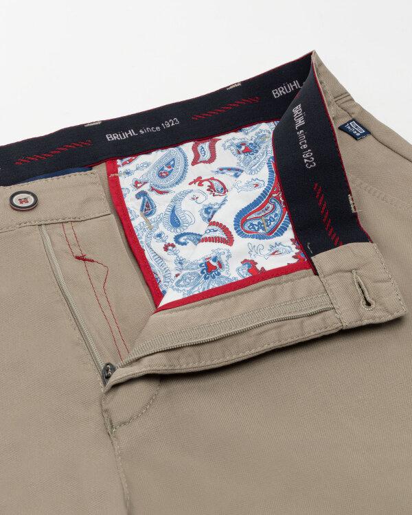 Spodnie Brühl London_0643185010100_210 beżowy