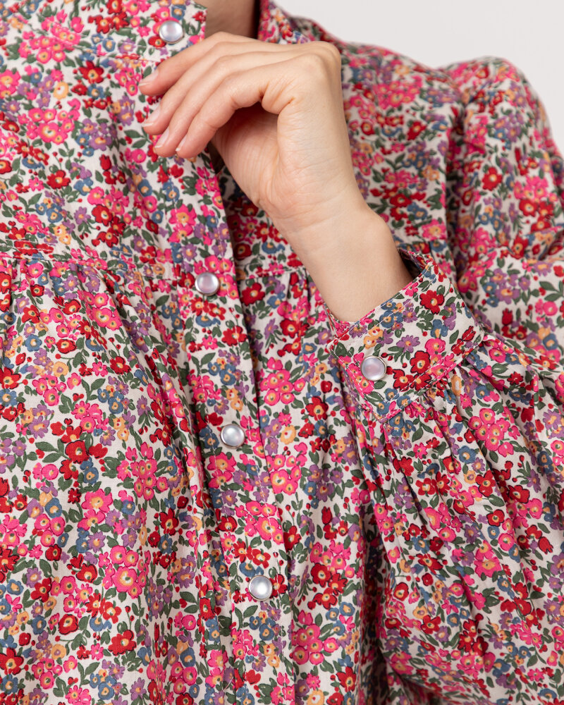 Koszula Lollys Laundry 21202_2002_FLOWER PRINT różowy - fot:3