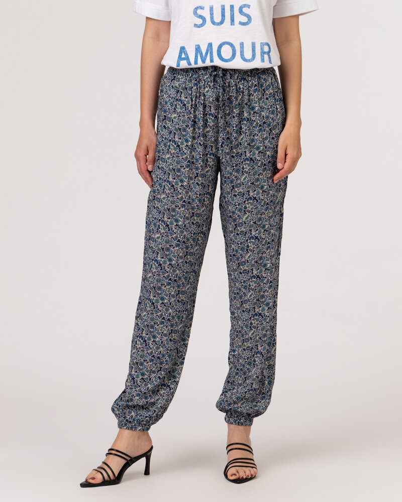 Spodnie Lollys Laundry 21230_5012_DARK BLUE granatowy - fot:2