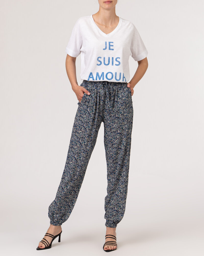 Spodnie Lollys Laundry 21230_5012_DARK BLUE granatowy - fot:5